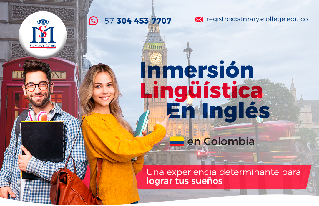 moviles Banner inmersion linguistica en ingles st marys college colombia