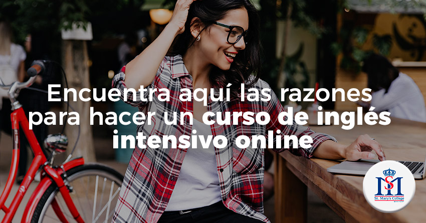 img razones para hacer un curso intensivo online st marys college