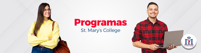 Banner programa st marys college