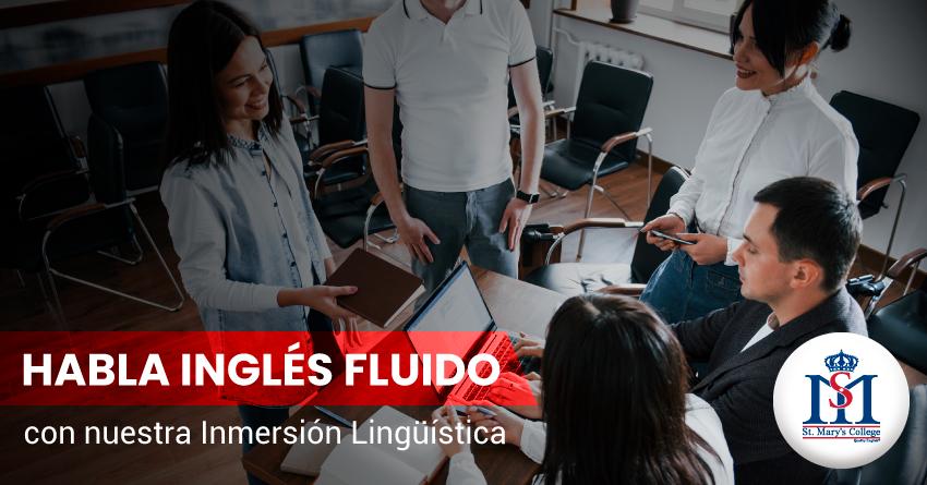 img habla ingles fluido con nuestra inmersion lingüística